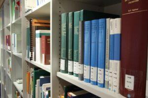 עבודות גמר בספריה